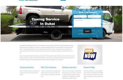 Dubai Car Recovery